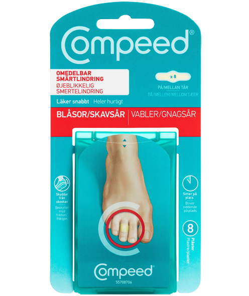 Compeed<sup>®</sup> Skavsårsplåster <br>On Toes