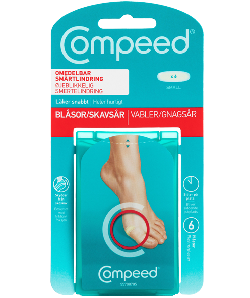 Compeed<sup>®</sup> Skavsårsplåster <br>Small